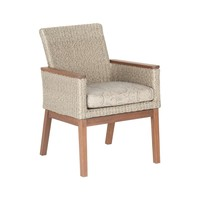 CORAL DINING CHAIR WITH C GRADE SEATPAD