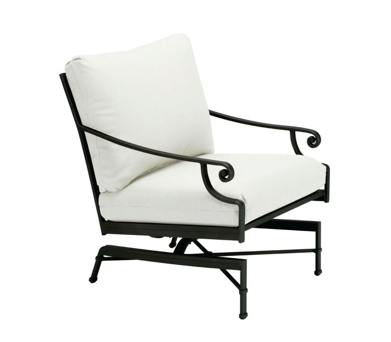 VENETIAN MOTION LOUNGE CHAIR WITH CUSHIONS IN GRADE A FABRIC