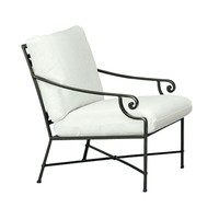 VENETIAN LOUNGE CHAIR WITH LOOSE CUSHIONS