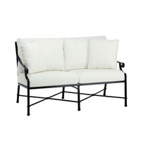 VENETIAN LOVE SEAT  WITH CUSHIONS