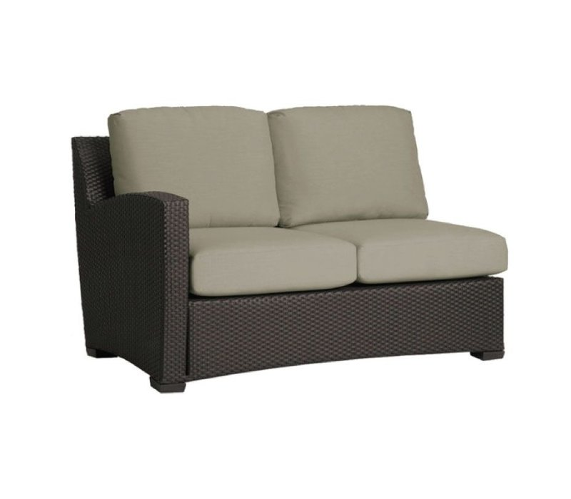FUSION LEFT ARM SECTIONAL IN BRONZE WITH GRADE A FABRIC