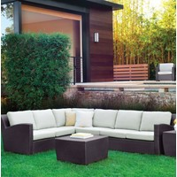FUSION CORNER SECTIONAL-BRONZE