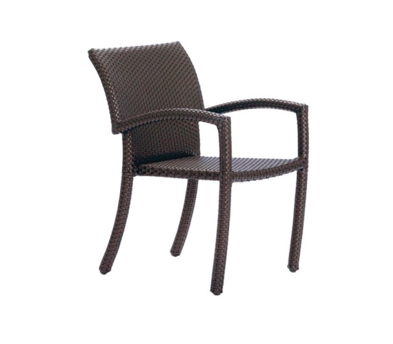 FUSION STACKING ARM CHAIR IN BRONZE
