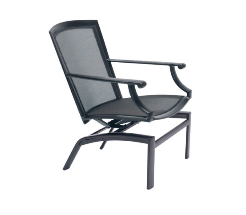 COAST MOTION LOUNGE CHAIR WITH PARABOLIC SLING