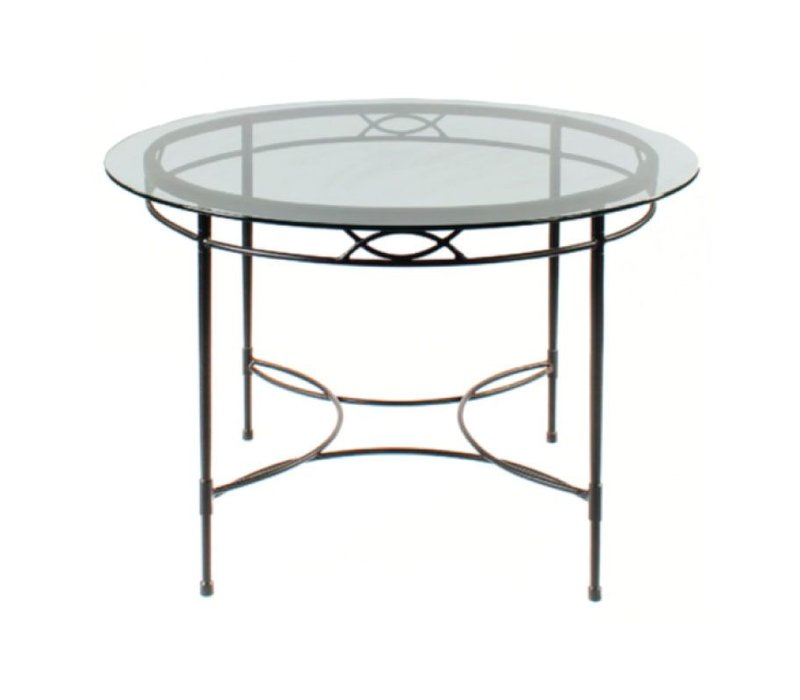 48 INCH ROUND DINING TABLE BASE IN EPOXY COATED STEEL