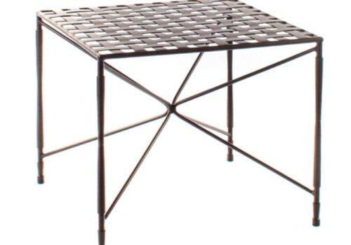 AMALFI LIVING AMALFI COFFEE TABLE STAR BASE WOVEN TOP