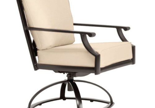 BROWN JORDAN COAST CUSHION SWIVEL ROCKER