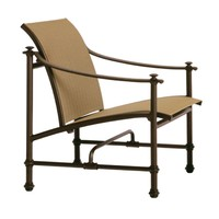 CAMPAIGN SLING LOUNGE CHAIR