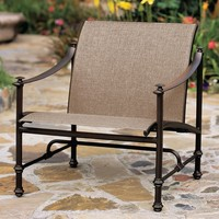 CAMPAIGN SLING LOUNGE CHAIR WITH GRADE A SLING