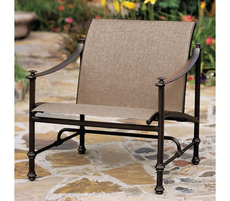 Exceptionnel CAMPAIGN SLING LOUNGE CHAIR WITH GRADE A SLING