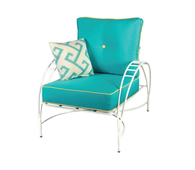 PHOENICIAN LOUNGE CHAIR IN POWDER COATED STEEL