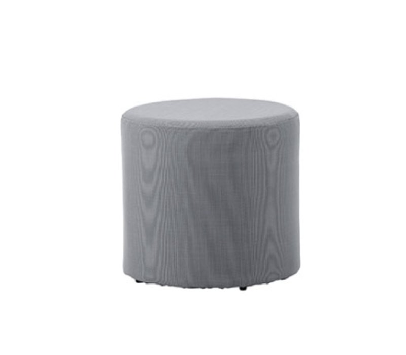 REST SIDE TABLE/FOOTSTOOL-GRAY