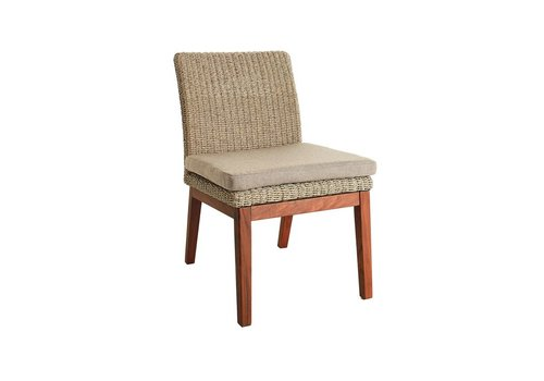 JENSEN LEISURE FURNITURE CORAL DINING CHAIR WITH C GRADE SEATPAD