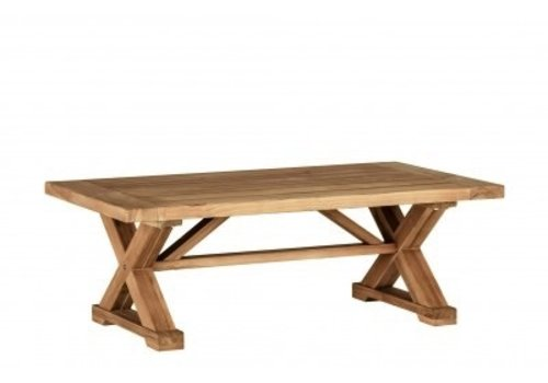 SUMMER CLASSICS MODENA COFFEE TABLE WEATHERED TEAK