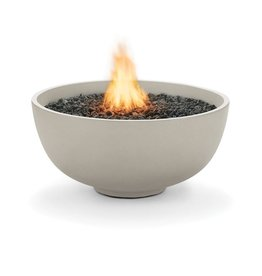 BROWN JORDAN FIRES URTH WITH NG / LP BURNER / NATURAL FINISH