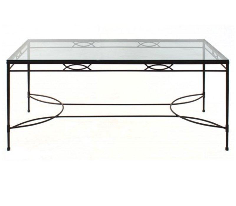 AMALFI 72 x 36 DINING TABLE BASE