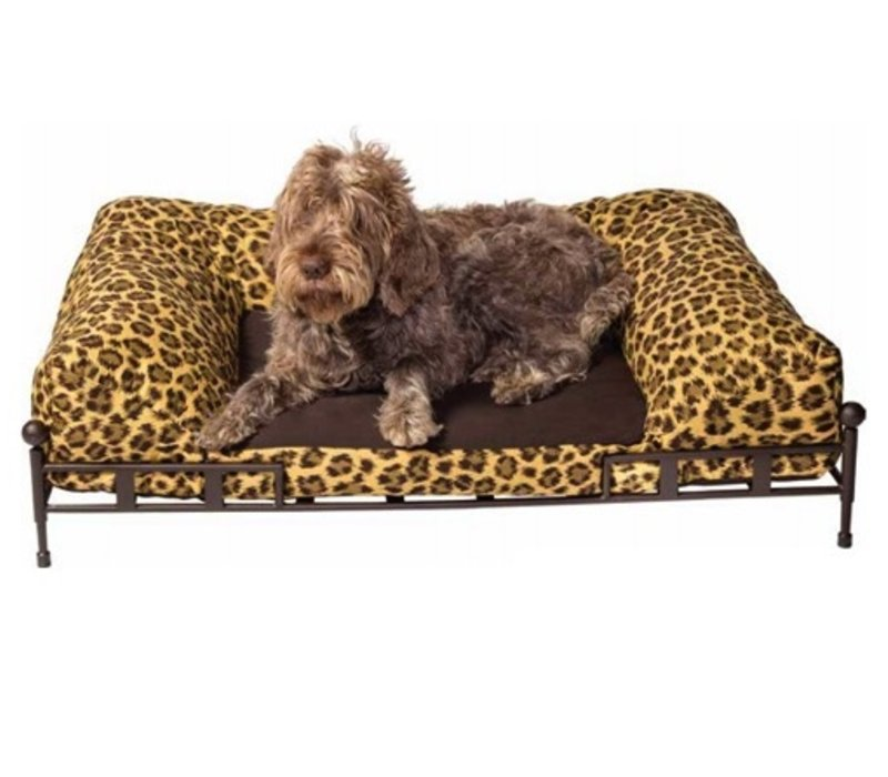 SHAKESPEARE DOG BED GRANDE IN EPOXY COATED STEEL