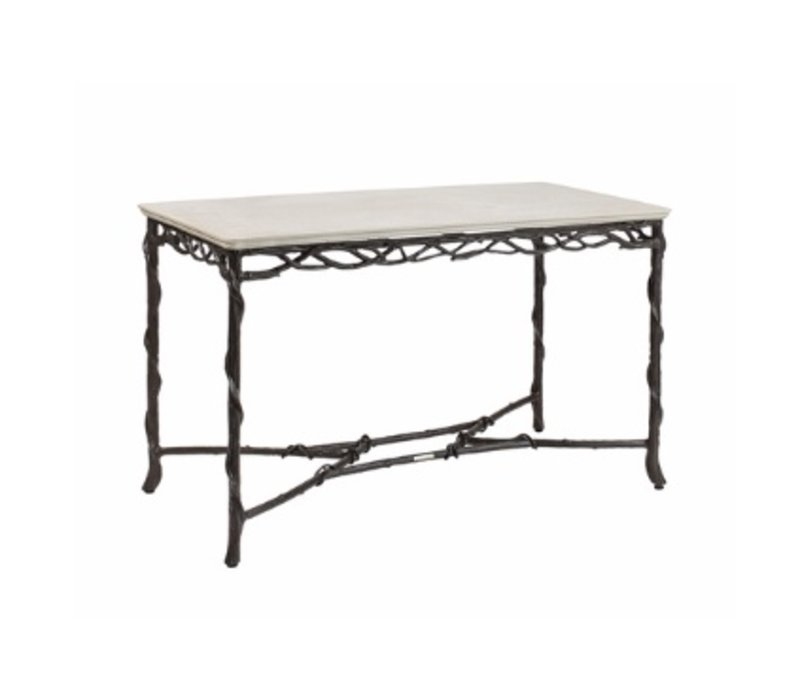 ARBRE 24x48 CONSOLE TABLE WITH LILY TOP