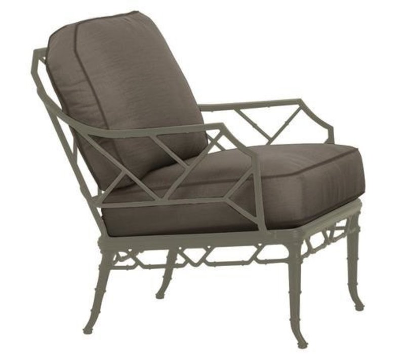 CALCUTTA LOUNGE CHAIR WITH LOOSE CUSHIONS