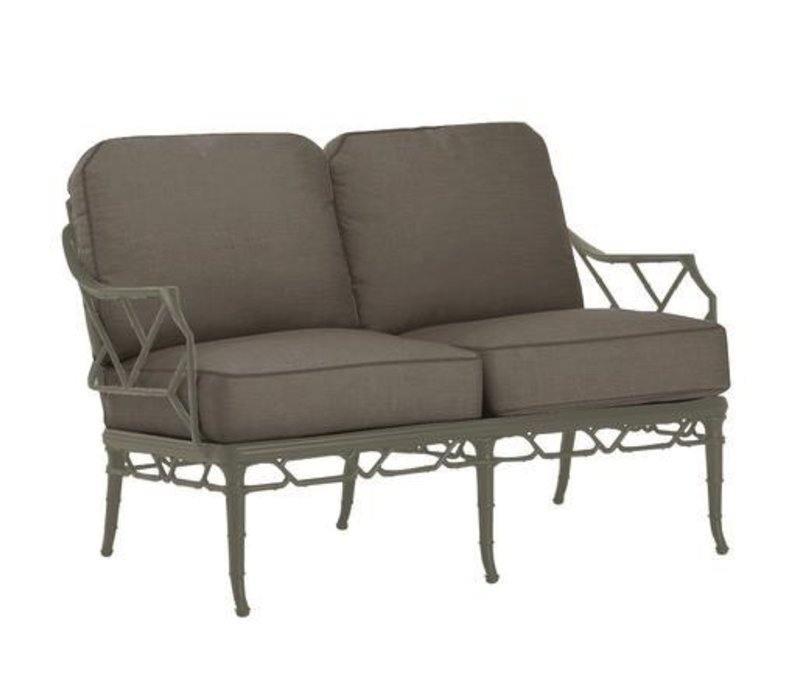 CALCUTTA LOVESEAT WITH GRADE A FABRIC
