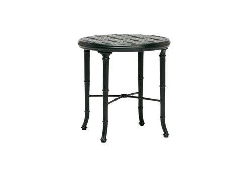 BROWN JORDAN CALCUTTA 20‰Û CAST TOP SIDE TABLE