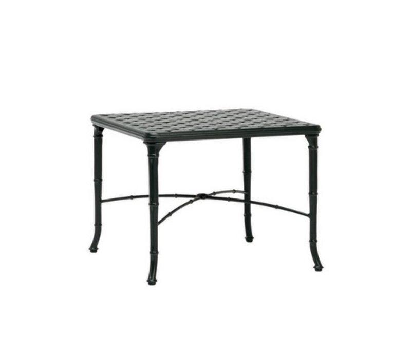 CALCUTTA SQUARE 26x26 CAST TOP CORNER TABLE