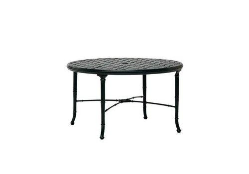 BROWN JORDAN CAST TOP CHAT TABLE 36 inch