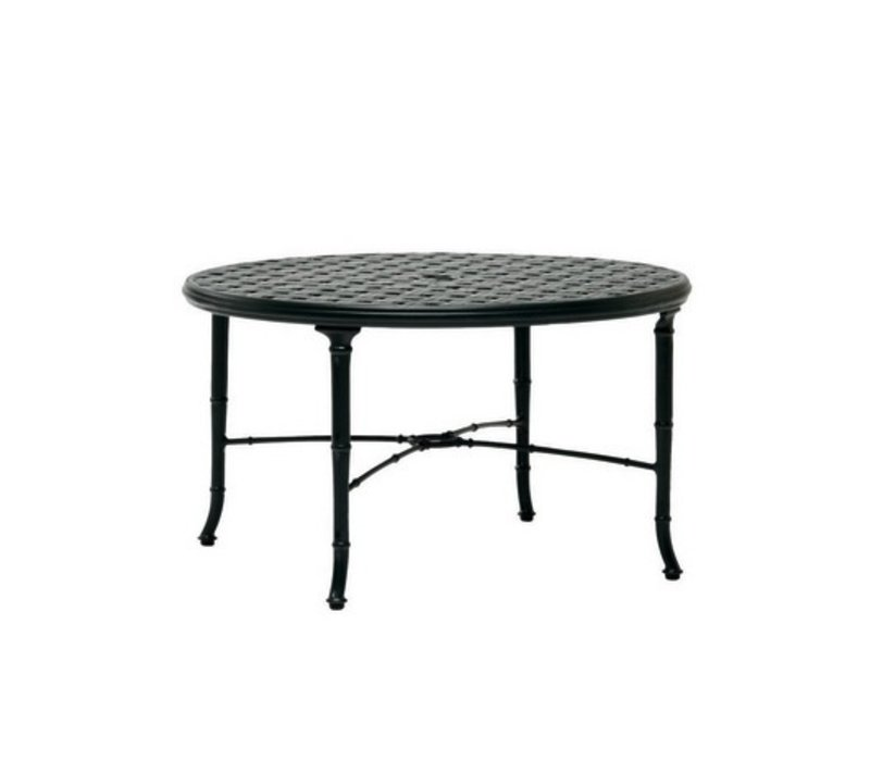 CALCUTTA 36 INCH CAST ALUMINUM CHAT TABLE