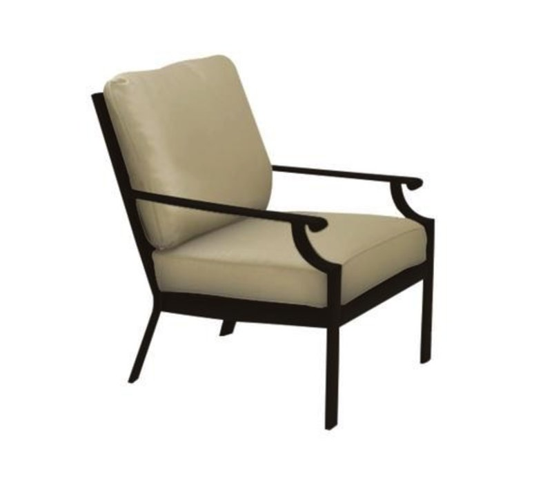 COAST CUSHION LOUNGE CHAIR WITH GRADE A FABRIC