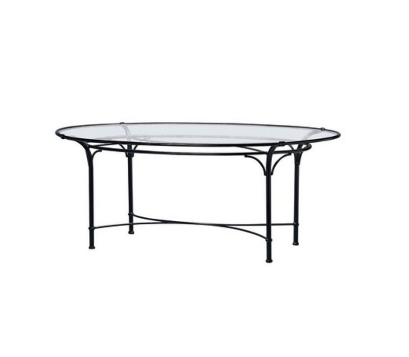 FLORENTINE 50 X 86 OVAL DINING TABLE