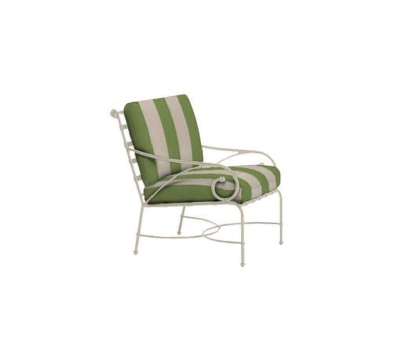 FLORENTINE LOUNGE CHAIR WITH GRADE A FABRIC
