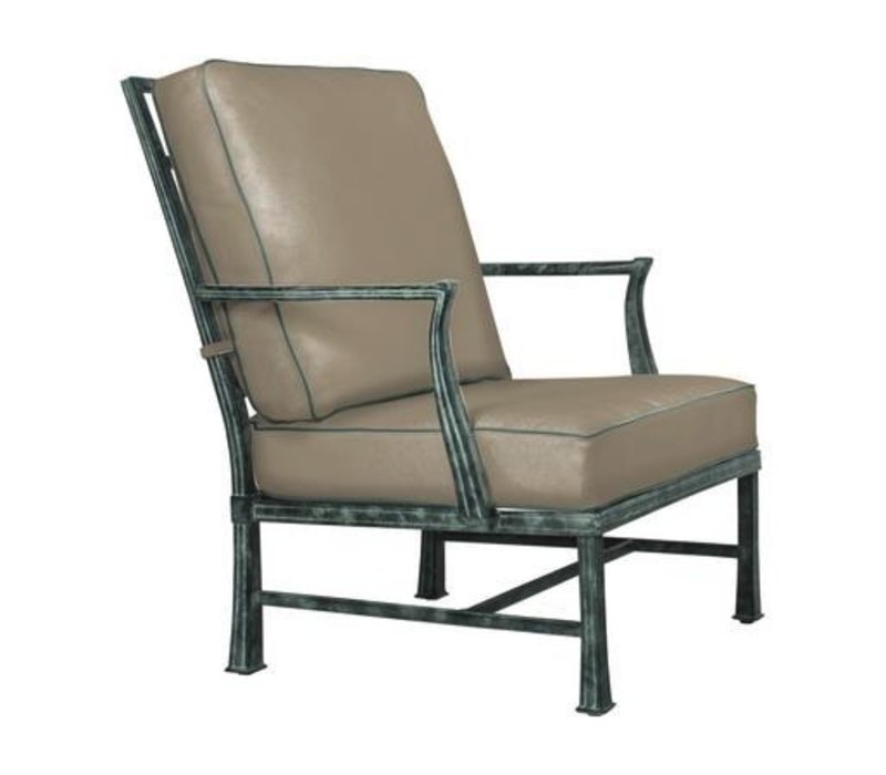 HAREWOOD LOUNGE CHAIR W/ LOOSE CUSHIONS - GRADE A
