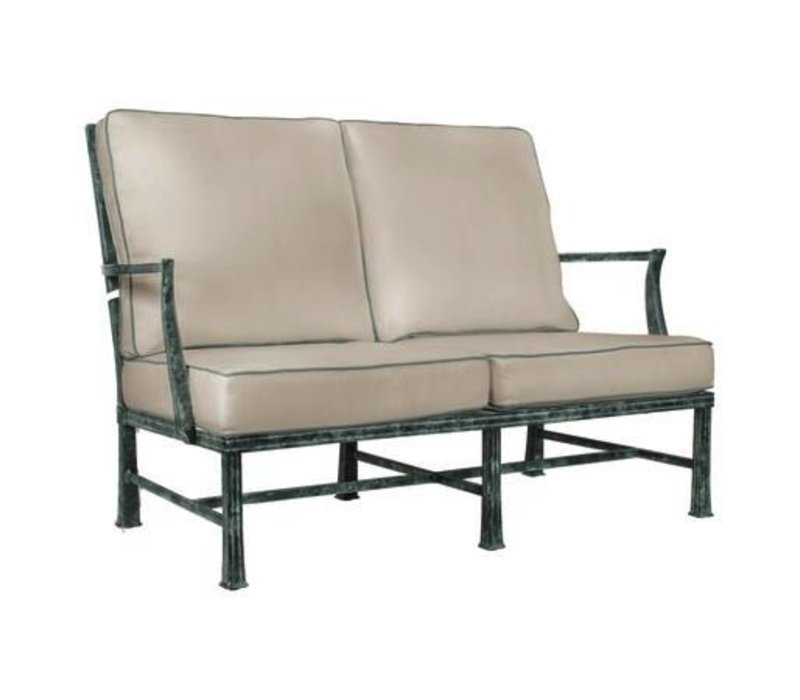 HAREWOOD LOVESEAT W/ LOOSE CUSHIONS - GRADE A