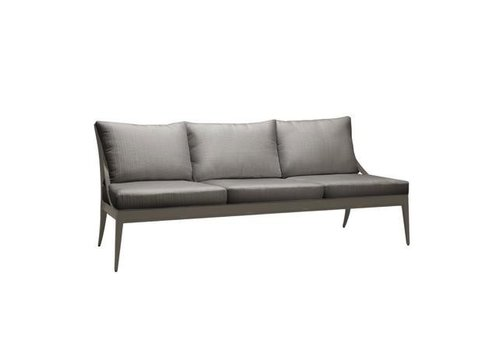 BROWN JORDAN LUNA SOFA W/ LOOSE CUSHIONS - GRADE A