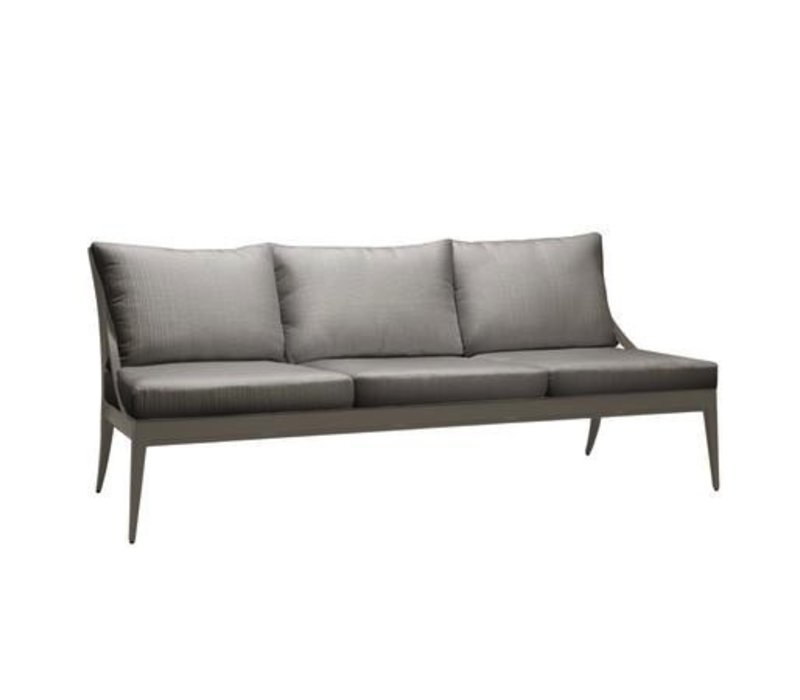 LUNA SOFA WITH LOOSE CUSHIONS IN GRADE A FABRIC