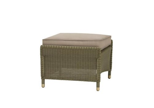 BROWN JORDAN SOUTHAMPTON OTTOMAN IN SAGE WITH GRADE A FABRIC