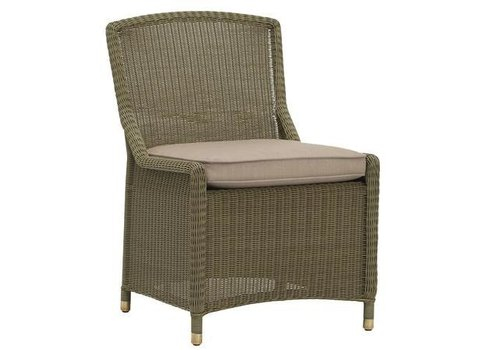 BROWN JORDAN SOUTHAMPTON SIDE CHAIR W/ LOOSE CUSHION