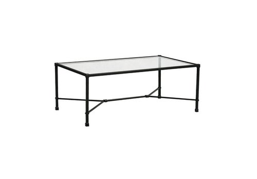 BROWN JORDAN VENETIAN 26 x 43 RECTANGULAR COFFEE TABLE