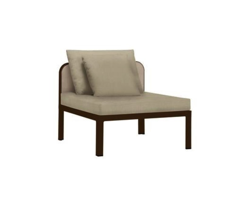 CONNEXION CENTER SECTIONAL WITH CUSHIONS / 1 RECT. PILLOW / 1 SQ. PILLOW