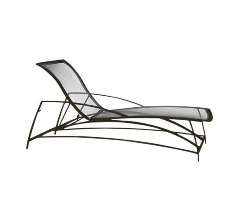 WAVE ADJUSTABLE CHAISE, PARABOLIC SLING