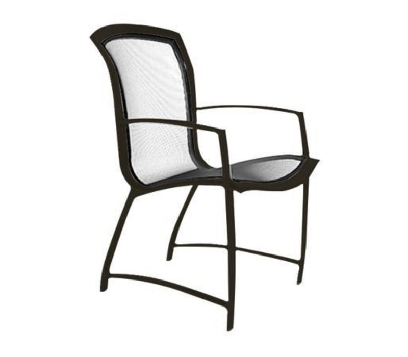 WAVE DINING ARM CHAIR