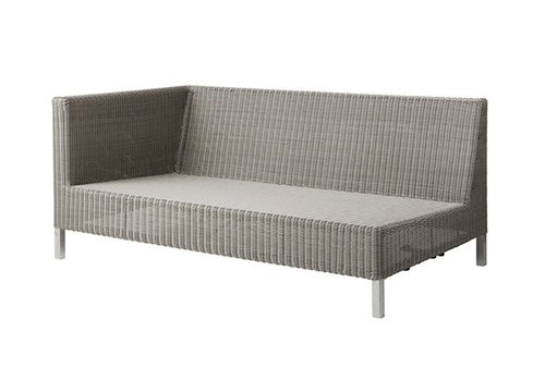 CANE-LINE CONNECT 2 SEATER SOFA RIGHT MODULE IN TAUPE