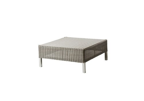 CANE-LINE CONNECT FOOTSTOOL IN TAUPE