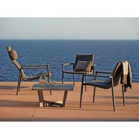 CORE HIGHBACK CHAIR GREY, CANE-LINE SOFTTOUCH