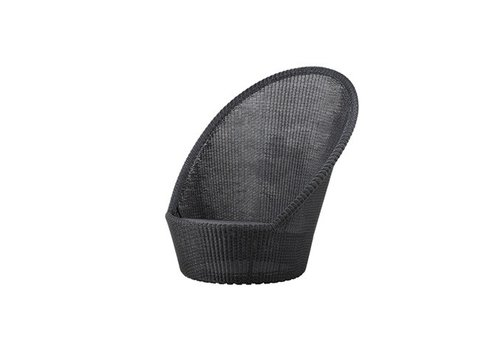 CANE-LINE KINGSTON SUNCHAIR WITH WHEELS IN GRAPHITE, CANE-LINE FIBRE