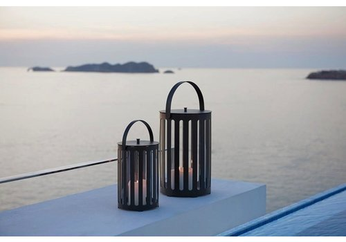 CANE-LINE LIGHT TUBE LANTERN, SMALL / SOLD IN SETS OF 2