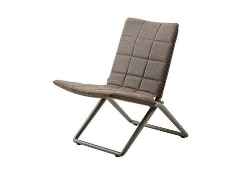 CANE-LINE TRAVELLER FOLDING LOUNGE CHAIR, BROWN CANE-LINE SOFTTOUCH