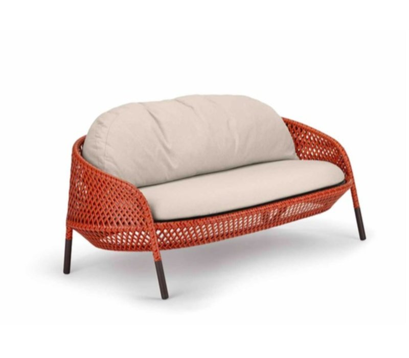 AHNDA 2 SEATER SOFA - ELEMENTAL (frame only/seat and back cushions sold individually)
