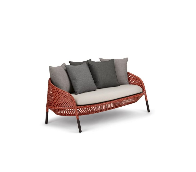 AHNDA 2 SEATER SOFA, ELEMENTAL