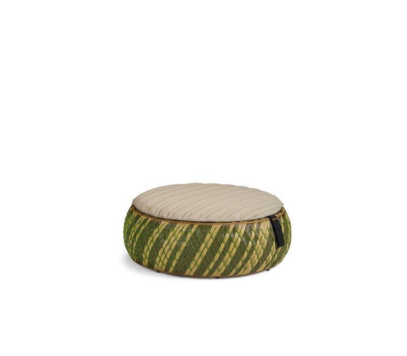 "DALA 38"" FFOOTSTOOL/COFFEE TABLE - COLOR GRASS"